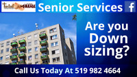 Are you downsizing? Seniors are our Specialty.
