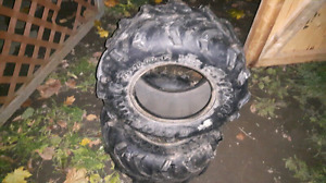 Gator pair of front ATV tires
