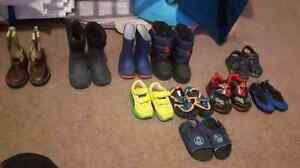 Baby boy stuff clothes and shoes