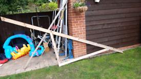 Mono roof trusses