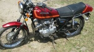 1977 Honda Cj360 Twin