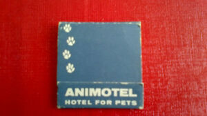 Matchbook Cover-ANIMOTEL, Hotel for Pets Kitchener / Waterloo Kitchener Area image 1