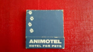 Matchbook Cover-ANIMOTEL, Hotel for Pets