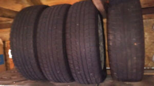 185/65R14 WINTER TIRES ON RIMS FOR HONDA CIVIC