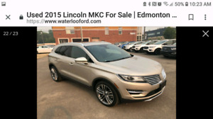 2015 Lincoln MKC with Lincoln warranty low km