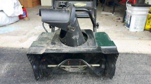 Small electric snowblower