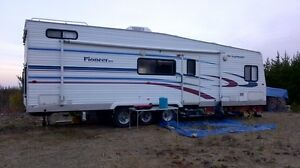 toy hauler rv trailer