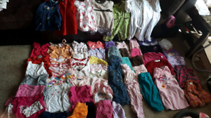 Entire girls wardrobe 6-12 month over 60 items!1