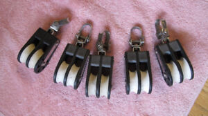 Barton Boat Blocks (Sailing Hardware) for Sale