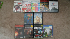 Games - Wii, PS2, Xbox, PS4 for sale / trade