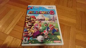 Mario party 8 et New super Mario bros Nintendo wii