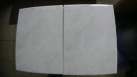 282 x gloss slightly grey ceramic tile
