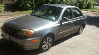 2004 Hyundai Accent | Certified and E-tested |  Clean