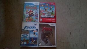 ****GREAT NINTENDO WII GAMES FOR SALE*****