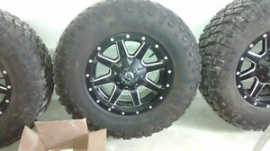 Fuel rims on Kelly tires