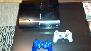 Playstation 3 avec 17 Jeux et 1 Jeu Integré