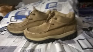 Route 66 Tan Hiking Boots, man's sz 8