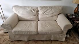IKEA EKTORP 2 seater sofa with 2 covers