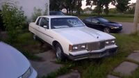 1981 Pontiac Pariseanne 2Dr Buckets +Floor Shift