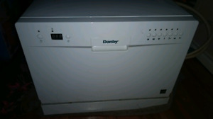 Danby counter top portable dishwasher