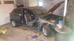 Parting out Ford focus