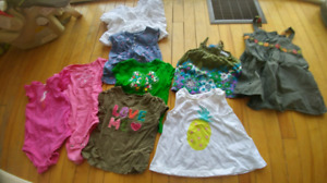 Toddler girl summer clothes, size 2 or 24 month