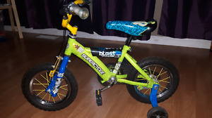 12 inch boys bicycle with training wheels