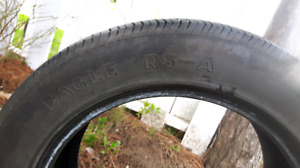 *NOW  $60* 2 Goodyear Eagle RS-A 245 55 18