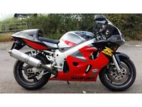 GSXR 600 SRAD SALE OR SWAP