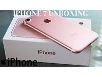 iPhone 7 rose gold 256 gb brand new unlocked