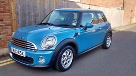 MINI Hatch 1.6 One Sport Chili 3d 2013 ONLY 19,000 MILES RS4 BLUE