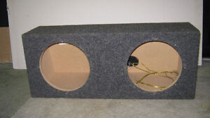 SUBBOX  2-10 INCH SUBS FIT