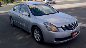 2009 NISSAN ALTIMA 2.5 S - $ 5895  CERTIFIED