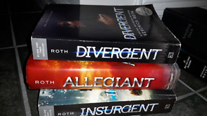 3 books of the Divergent series