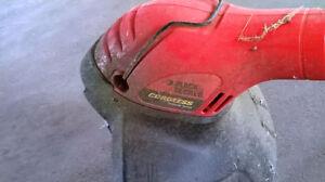 Black & Decker grasshog trimmer/edger - cordless