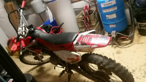 Dirt Bike, Honda 100CRF