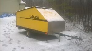 5x9 Enclosed Trailer