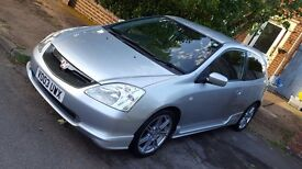 Honda Civic Type R, mot and service history sale or swap or px ex Astra 150cdti