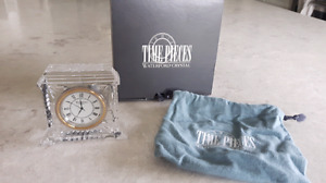 waterford crystal timepieces clock