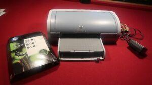 Imprimante à jet d'encre HP Reskjet 5150 avec un  Scanner gratui
