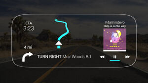 Mint Condition Navdy – Heads Up Display & GPS Navigation