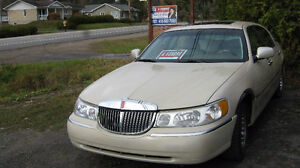 2001 Lincoln Town Car Cartier Berline