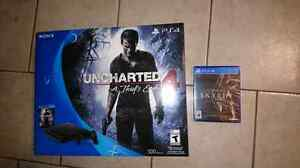 Unopened Ps4 500GB / Uncharted 4 + Skyrim special edition