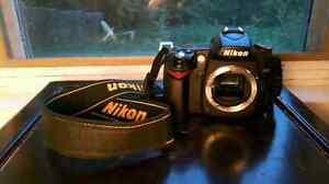 NIKON D90 CAMERA + TWO LENSES