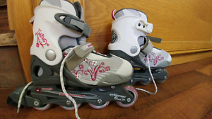 Roller blades fits sizes 4 -7