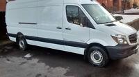 2014, Mercedes, Sprinter, Van, truck, fourgon, camion, usagé