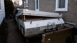 Tent trailer sold pending pick up