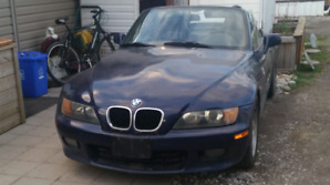 BMW Z3 ROADSTER SUPERCHARGED 2.5L 6CYL fully loaded.
