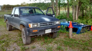92 Toyota Pickup Truck Downtown-West End Greater Vancouver Area image 1