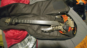 Curve Bow Cort  Now Signed Bass guitar